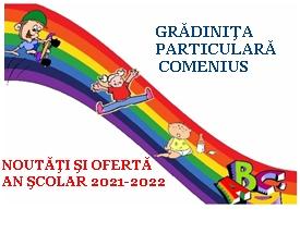 Click aici pentru Oferta extinsa a gradinitei particulare Comenius